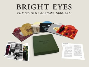 Cover BRIGHT EYES, the studio albums 2000-2011