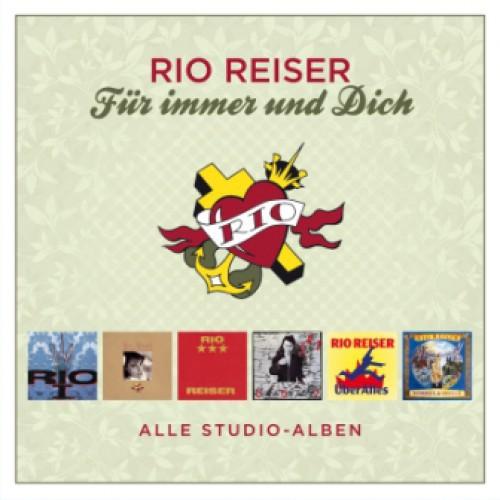 RIO REISER, für immer und dich (alle studioalben) cover