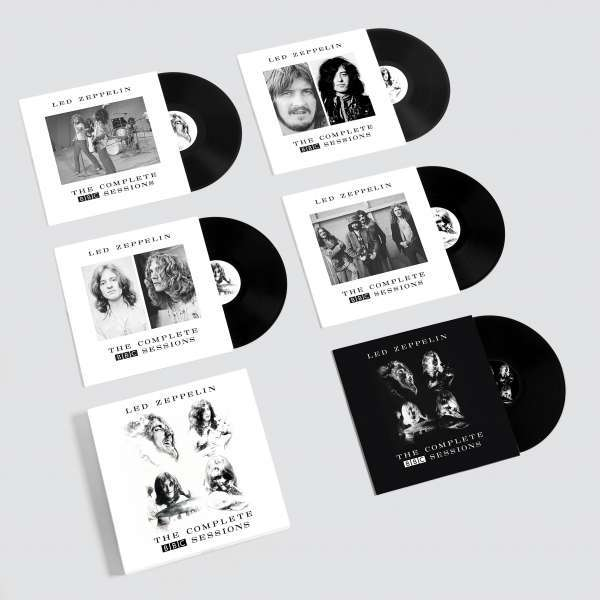 Cover LED ZEPPELIN, complete bbc sessions