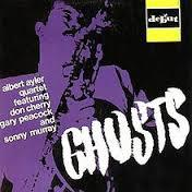 Cover ALBERT AYLER, ghosts
