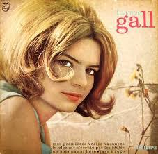 Cover FRANCE GALL, debut