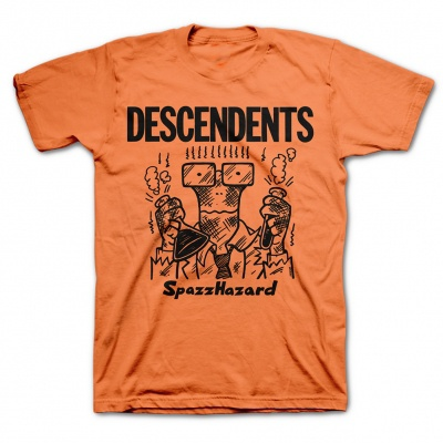 Cover DESCENDENTS, spazzhazard (boy) orange