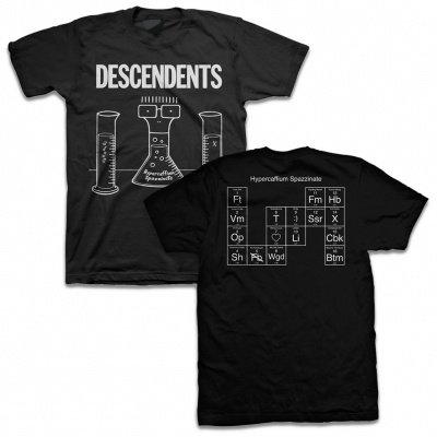 DESCENDENTS, hypercaffium spazzinate (boy) black cover