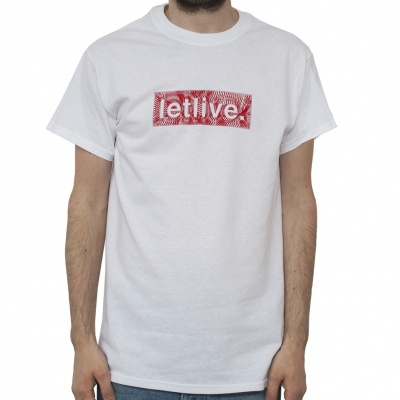 Cover LETLIVE, string white (boy) white