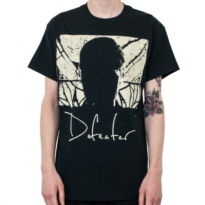 DEFEATER, album cover (boy) black cover
