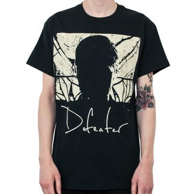 DEFEATER, album cover (boy) black cover