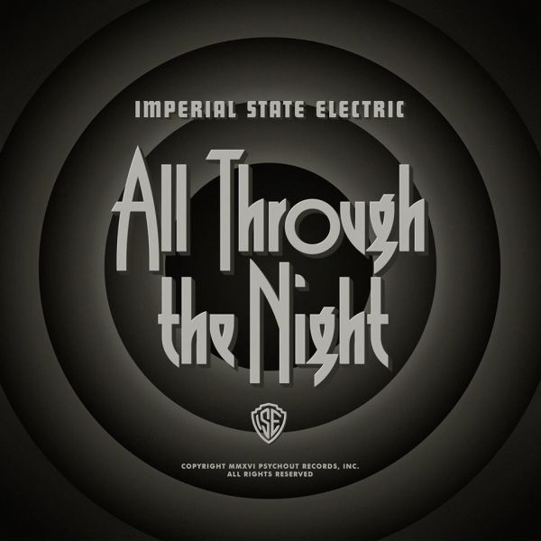 Cover IMPERIAL STATE ELECTRIC, all through the night