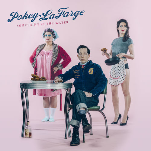 POKEY LAFARGE, something in the water cover