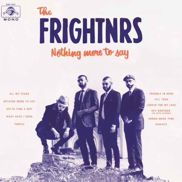 FRIGHTNRS, nothing more to say cover