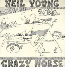 Cover NEIL YOUNG, zuma (remaster)