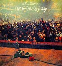 NEIL YOUNG, time fades away (remaster) cover