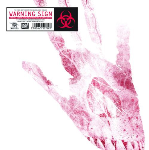 Cover O.S.T. (CRAIG SAFAN), warning sign (1985)