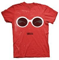 Cover NIRVANA, red sunglasses (boy) red