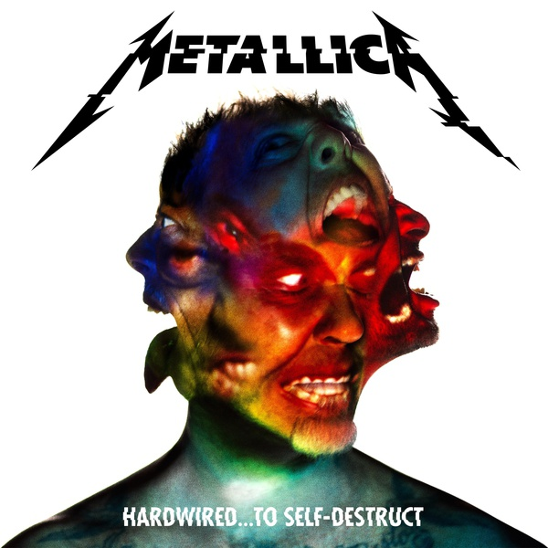 METALLICA, hardwired...to self-destruct cover