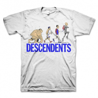 Cover DESCENDENTS, ascent of man (boy) white