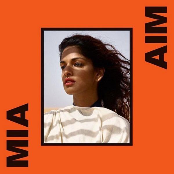 M.I.A., aim cover