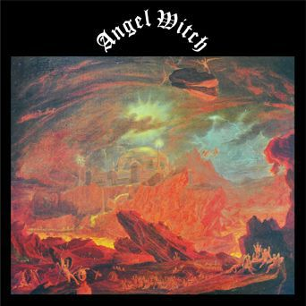 Cover ANGEL WITCH, s/t