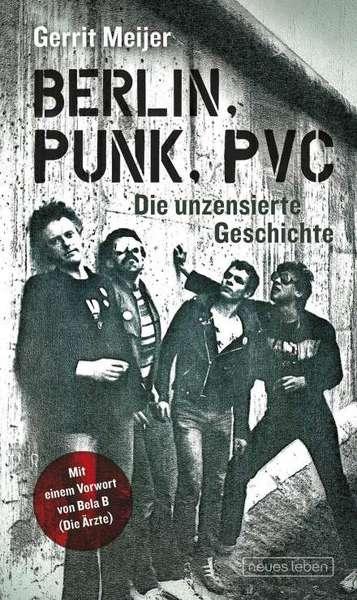 GERRIT MEIJER, berlin, punk, pvc cover