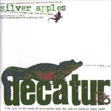 Cover SILVER APPLES, decatur