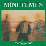Cover MINUTEMEN, ballot result