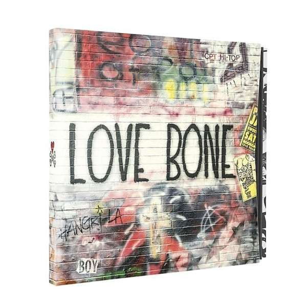 Cover MOTHER LOVE BONE, on earth as it is - the complete works