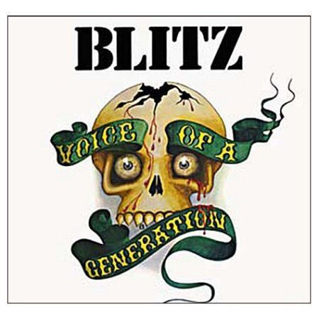 Cover BLITZ, voice of a generation