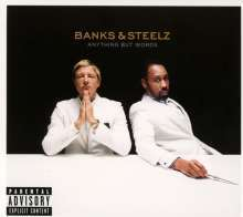 Cover BANKS & STEELZ, anything but words