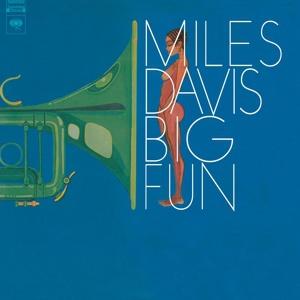 MILES DAVIS, big fun cover