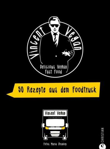 VINCENT VEGAN, foodtruck kochbuch cover