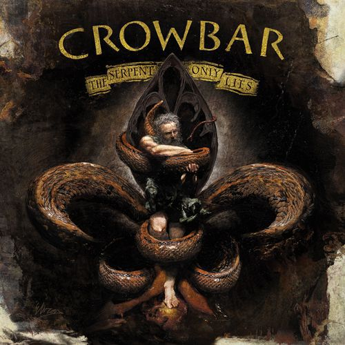 Cover CROWBAR, the serpent only lies