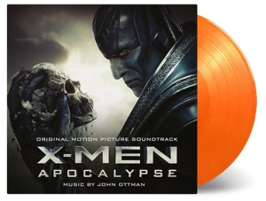 Cover O.S.T., x-men apocalypse (john ottman)