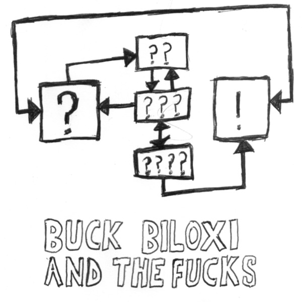 BUCK BILOXI AND THE FUCKS, obama is a cyborg cover