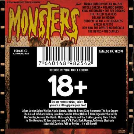 Cover V/A (MONSTERS), 30 years anniversary album