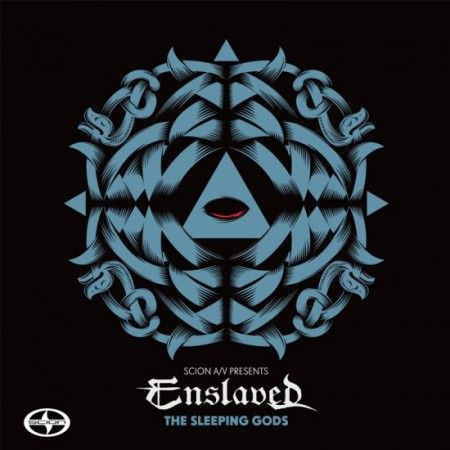 ENSLAVED, the sleeping gods cover