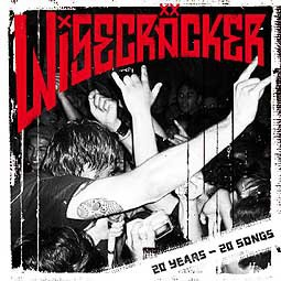 Cover WISECRÄCKER, 20 years 20 songs