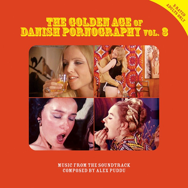 Cover ALEX PUDDU, the golden age of danish pornography 3