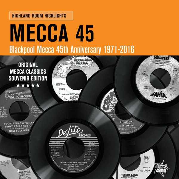 Cover V/A, blackpool mecca/45th anniversary