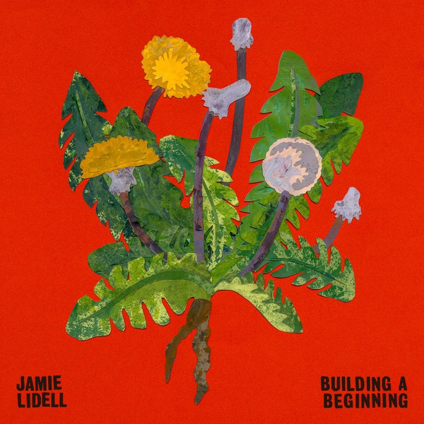 Cover JAMIE LIDELL, building a beginning