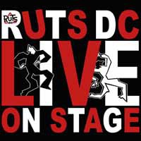 Cover RUTS DC, on stage