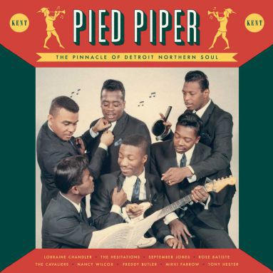 Cover V/A, pied piper - the pinnacle of detroit soul