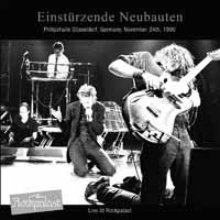 Cover EINSTÜRZENDE NEUBAUTEN, live at rockpalast