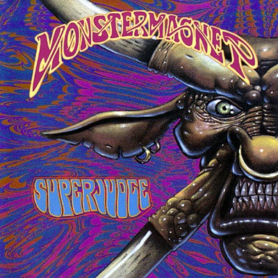 Cover MONSTER MAGNET, superjudge