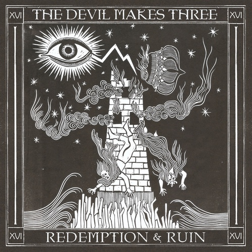DEVIL MAKES THREE, redemption & ruin cover