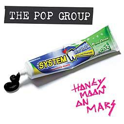 Cover POP GROUP, honeymoon on mars