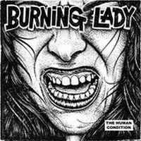 Cover BURNING LADY, human condition