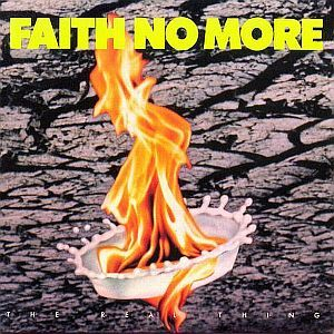 Cover FAITH NO MORE, real thing