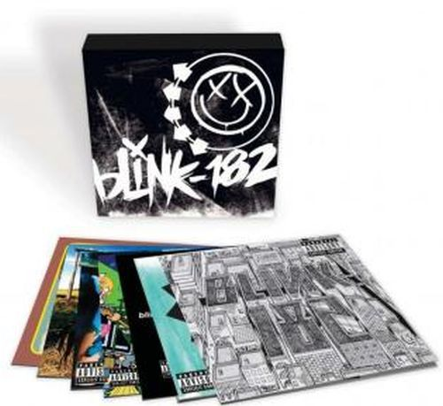 Cover BLINK 182, box set
