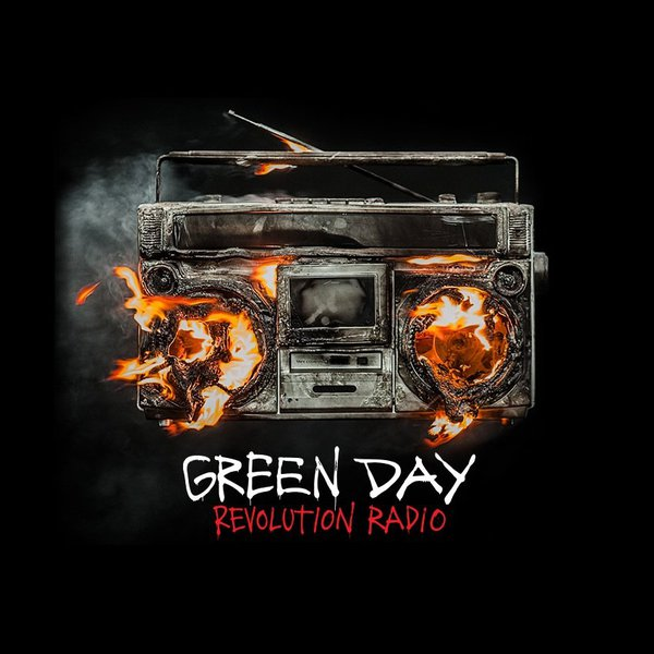 Cover GREEN DAY, revolution radio