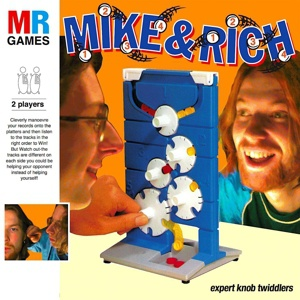 APHEX TWIN & MU-ZIQ, mike and rich: expert knob twiddlers cover