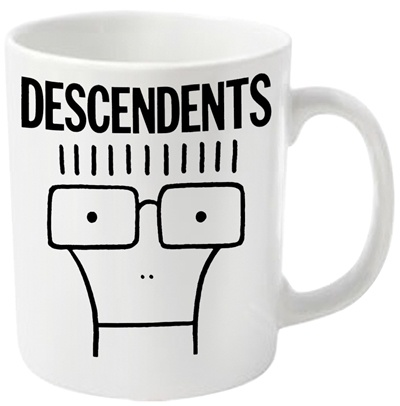 Cover DESCENDENTS, milo_coffee mug white